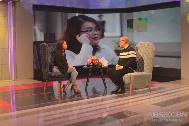PHOTOS: Jasmine Curtis-Smith on Tonight With Boy Abunda