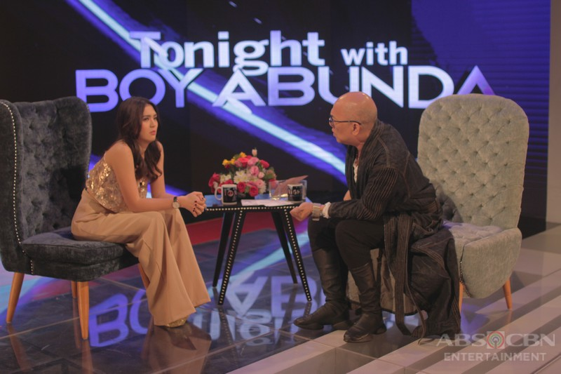 PHOTOS: Sofia Andres on Tonight With Boy Abunda