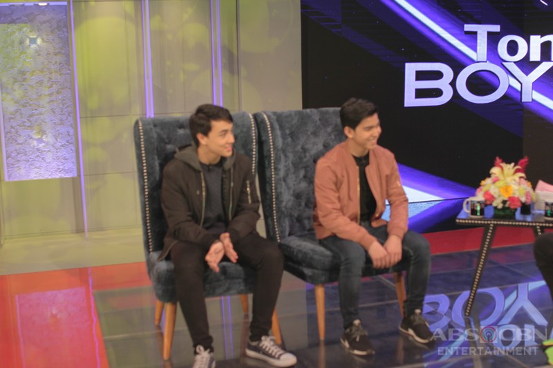 PHOTOS: Kisses, Yong and Edward on Tonight With Boy Abunda