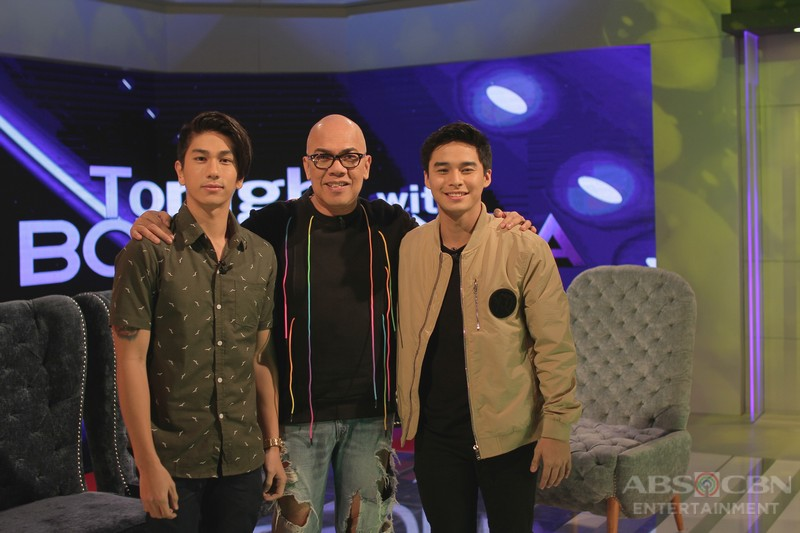 PHOTOS: Nikko Natividad and McCoy De Leon on Tonight With Boy Abunda