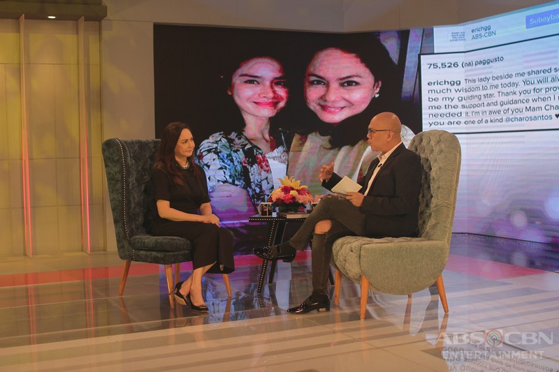 PHOTOS: Charo Santos on Tonight With Boy Abunda