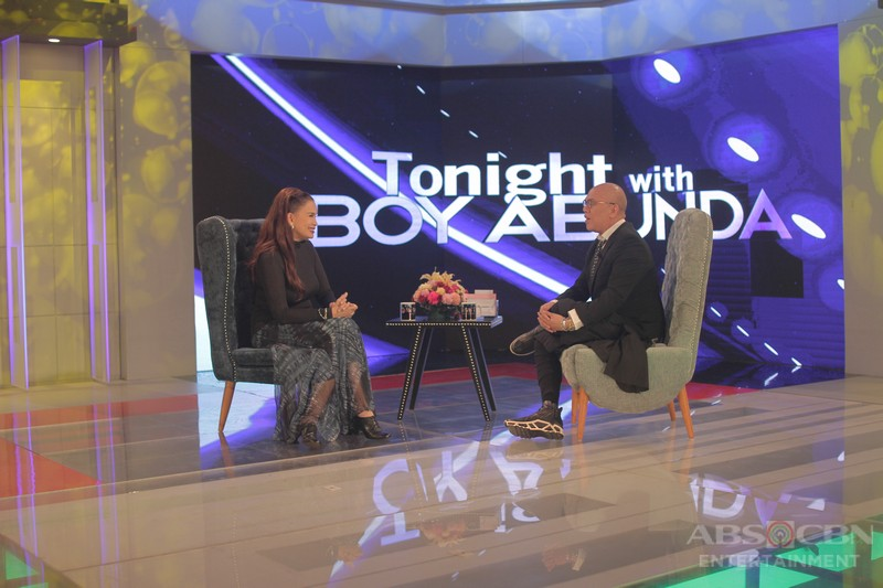 PHOTOS: Melanie Marquez on Tonight with Boy Abunda