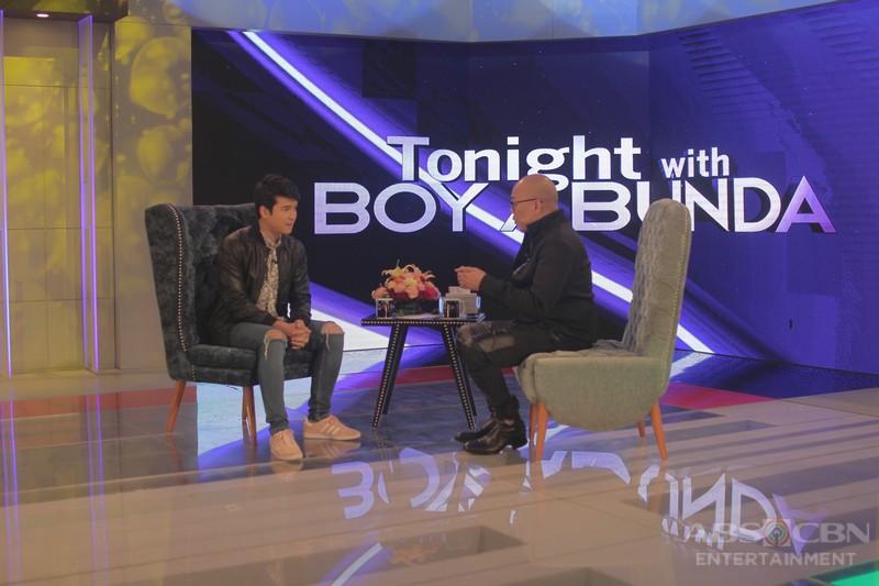 PHOTOS: Jerome Ponce on Tonight with Boy Abunda