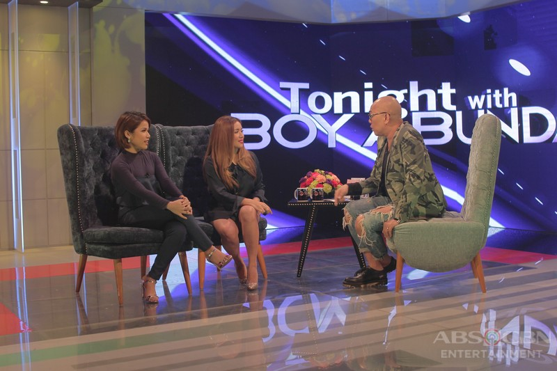 PHOTOS: Angeline and Klarisse on Tonight With Boy Abunda