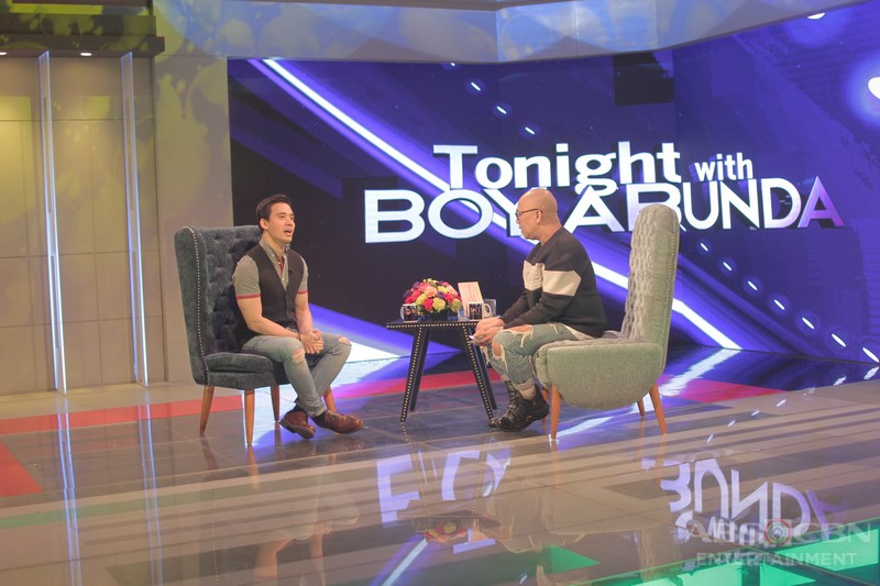 PHOTOS: Erik Santos on Tonight With Boy Abunda