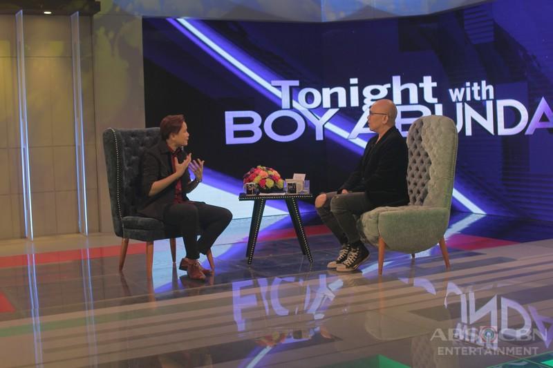 PHOTOS: Kaye Cal on Tonight With Boy Abunda