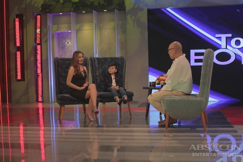 PHOTOS: Raikko and Yen on Tonight with Boy Abunda