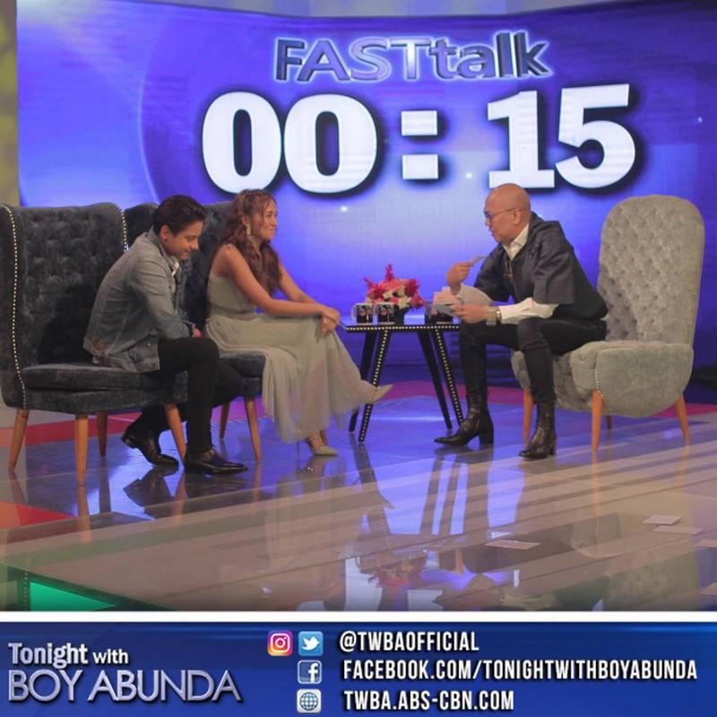 PHOTOS: Kathryn Bernardo and Daniel Padilla on Tonight With Boy Abunda