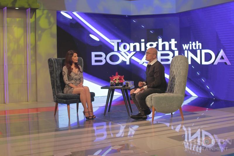 PHOTOS: Carmi Martin on Tonight With Boy Abunda