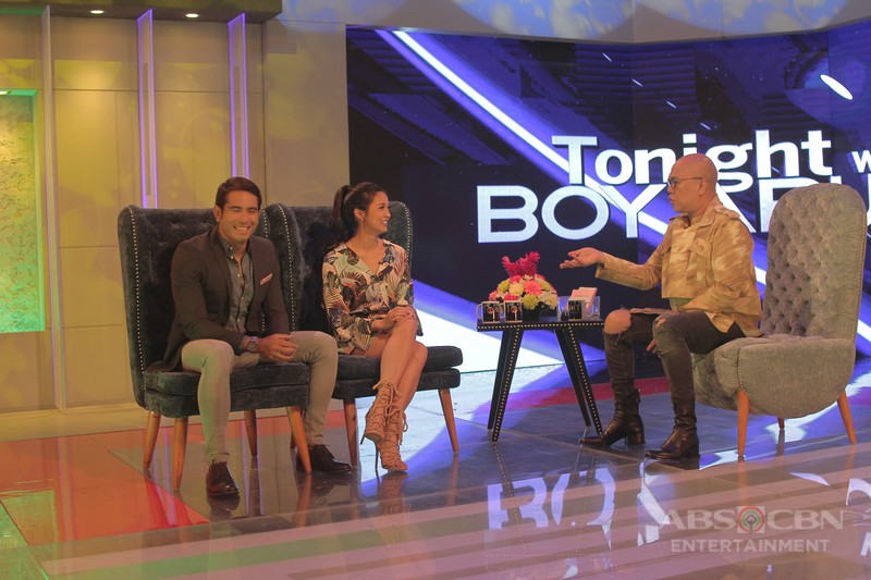 PHOTOS: Kim Chiu and Gerald Anderson on Tonight With Boy Abunda