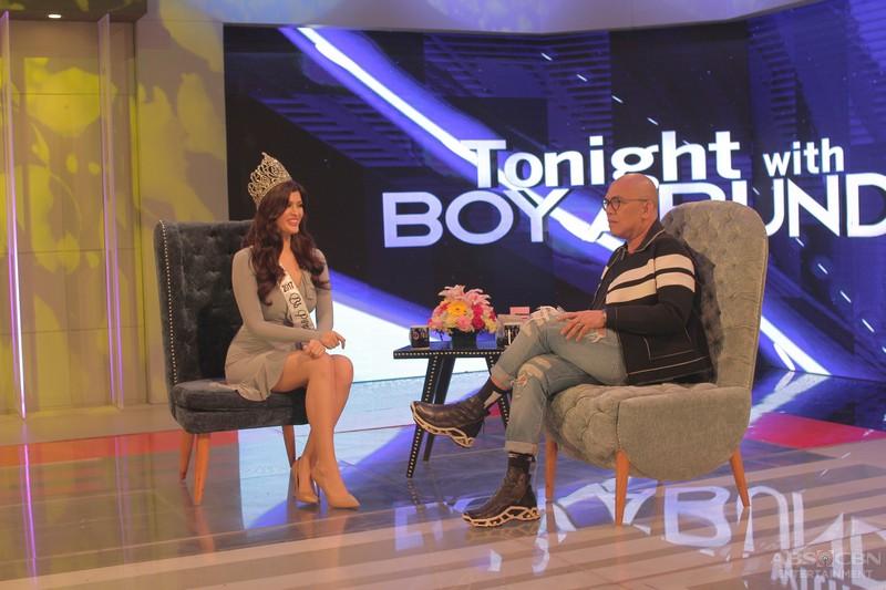 PHOTOS: Mariel De Leon and Nelda Ibe on Tonight With Boy Abunda