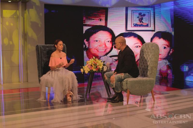 PHOTOS: Jodi Sta. Maria on Tonight with Boy Abunda