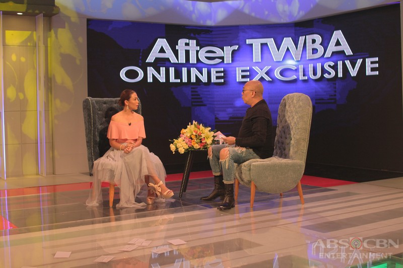 PHOTOS: Jodi Sta. Maria on Tonight with Boy Abunda