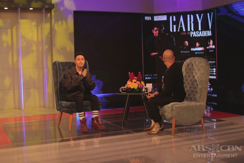 PHOTOS: Sam Concepcion on Tonight With Boy Abunda