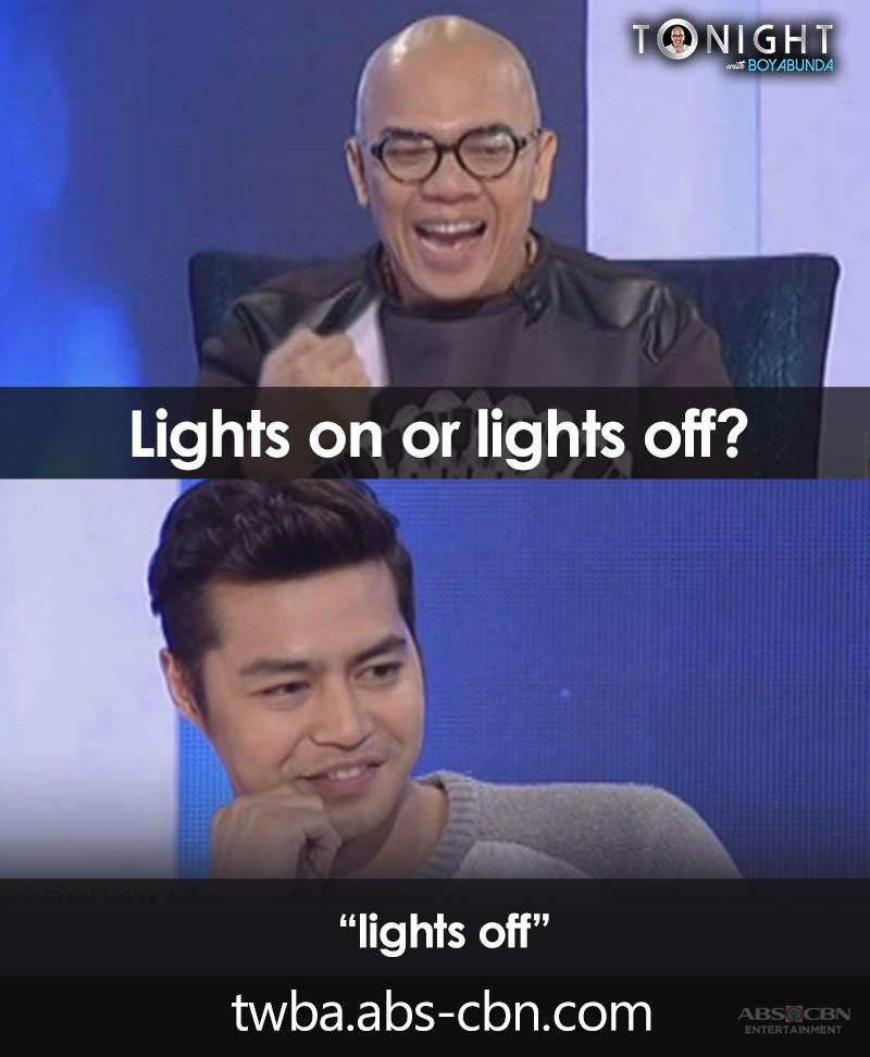 """Know the answers of 15 celebrities to Tito Boy's intriguing question """"Lights on or Light off?"""""""