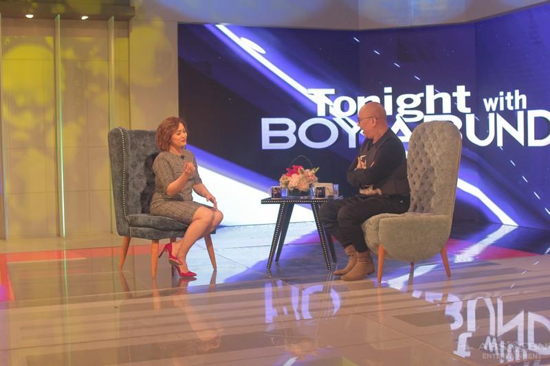 PHOTOS: Joanna Ampil on Tonight With Boy Abunda