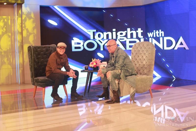 PHOTOS: Daniel Padilla on Tonight With Boy Abunda