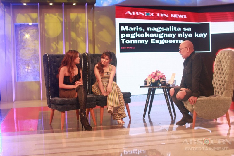 PHOTOS: Loisa Andalio and Maris Racal on Tonight With Boy Abunda