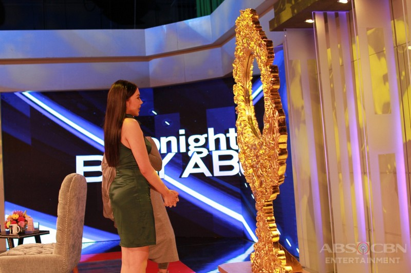 PHOTOS: Julia Montes on Tonight With Boy Abunda