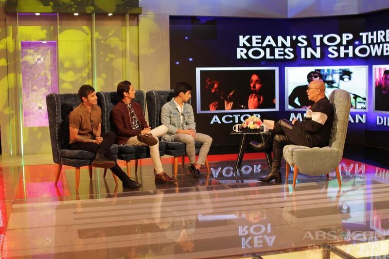 PHOTOS: Kean Cipriano, Joseph Marco, and Albie Casiño on Tonight With Boy Abunda