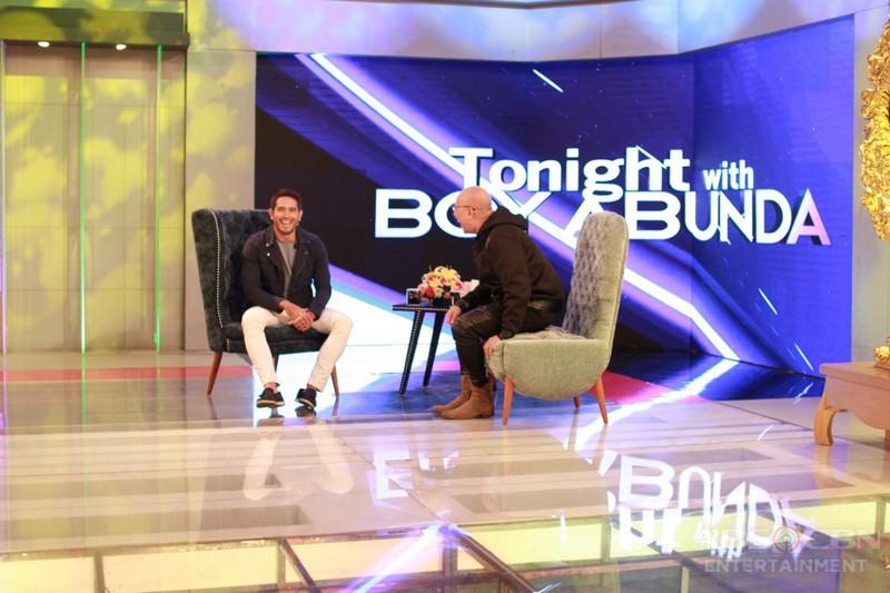 PHOTOS: Gerald Anderson on Tonight With Boy Abunda