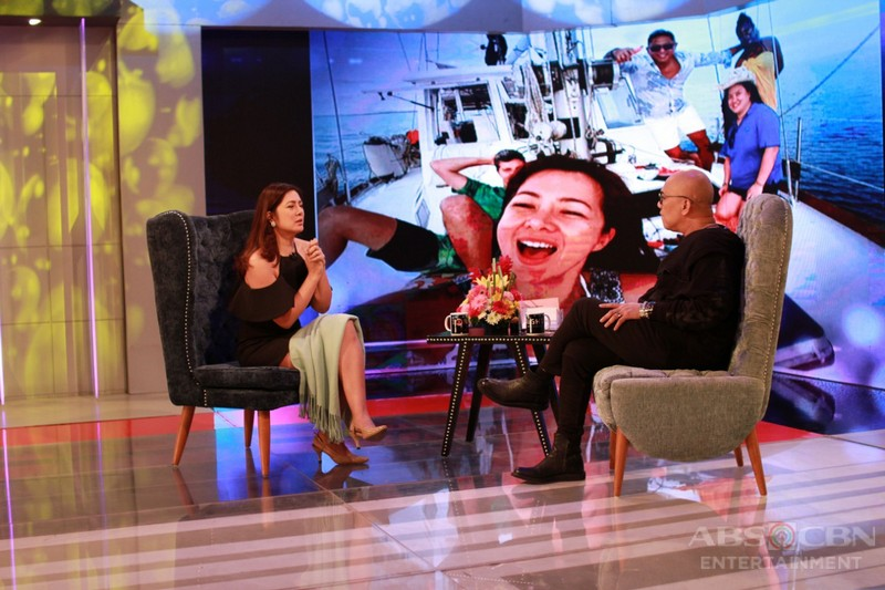 PHOTOS: Alice Dixson on Tonight With Boy Abunda