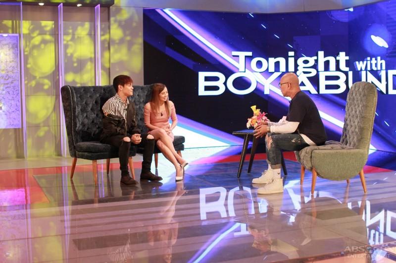 PHOTOS: Ella and Julian on Tonight With Boy Abunda
