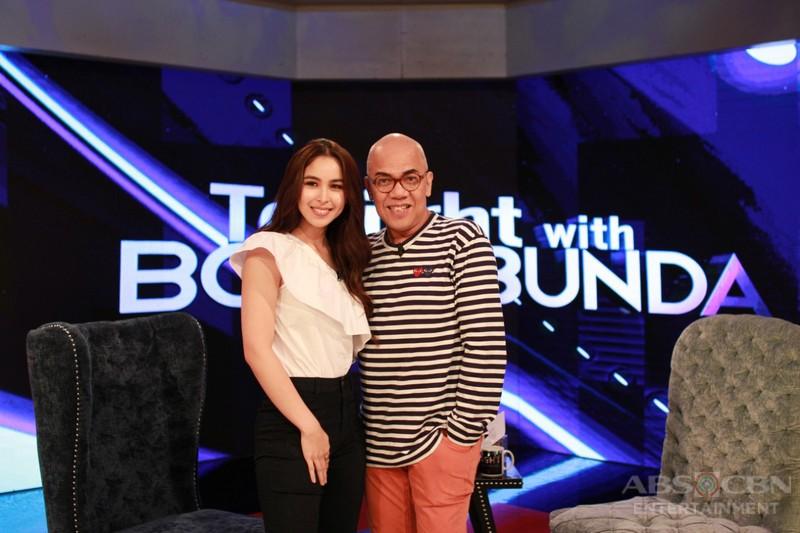 PHOTOS: Julia Barretto on Tonight With Boy Abunda