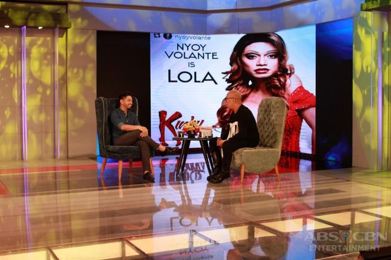 PHOTOS: Nyoy Volante on Tonight With Boy Abunda