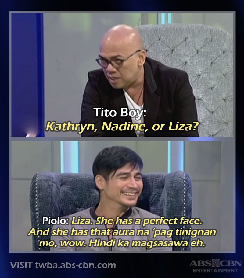 10 Times Liza Soberano was mentioned by Tito Boy's guests on TWBA