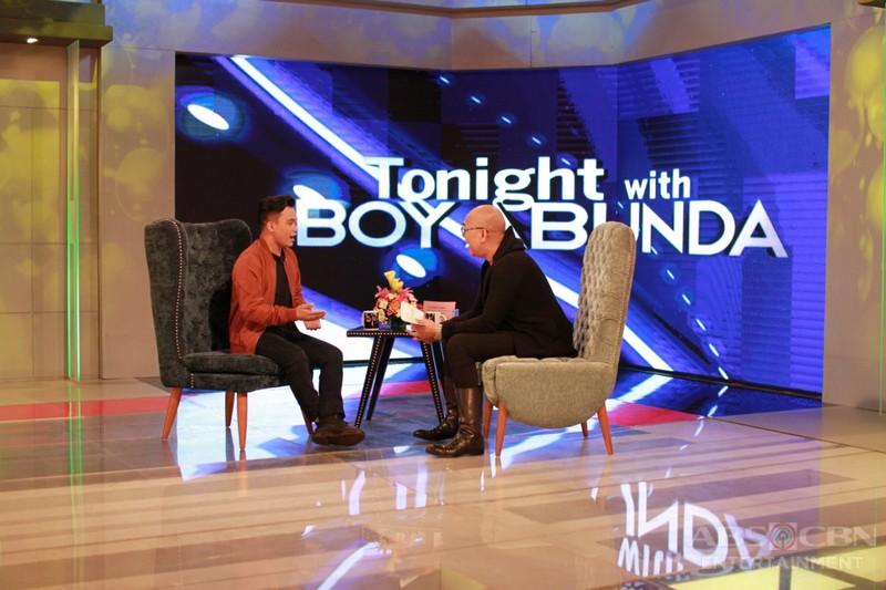 PHOTOS:  Noven Belleza on Tonight With Boy Abunda