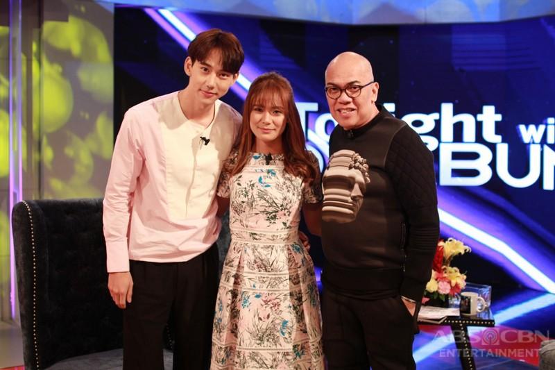 PHOTOS: Devon Seron and Jin Ju Hyung on Tonight With Boy Abunda