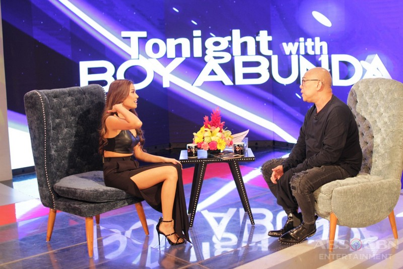 PHOTOS: Myrtle Sarrosa on Tonight With Boy Abunda