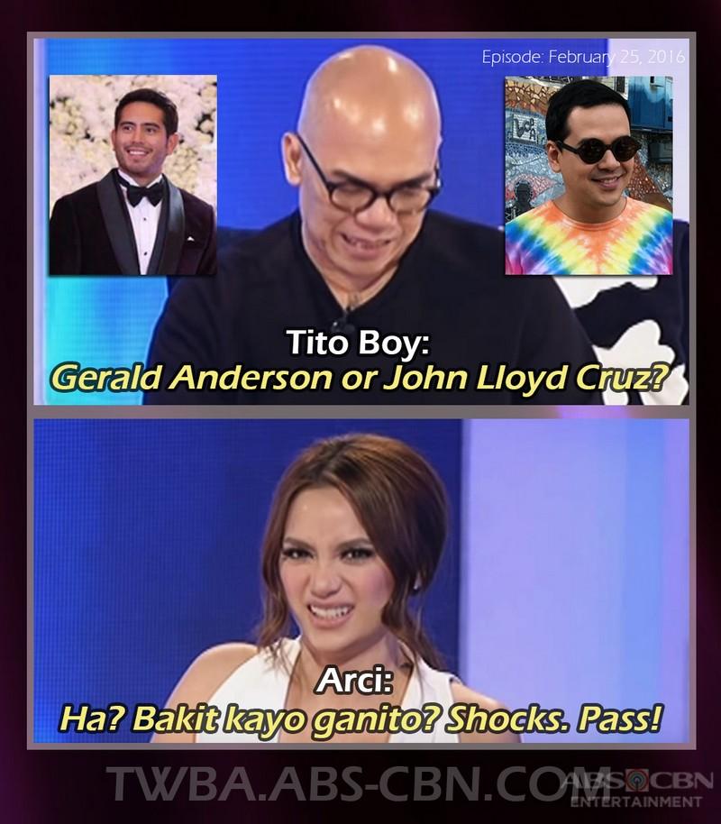 LOOK: 10 Artistang hindi nasagot ang mga katanungan ni Tito Boy sa TWBA Fast Talk!