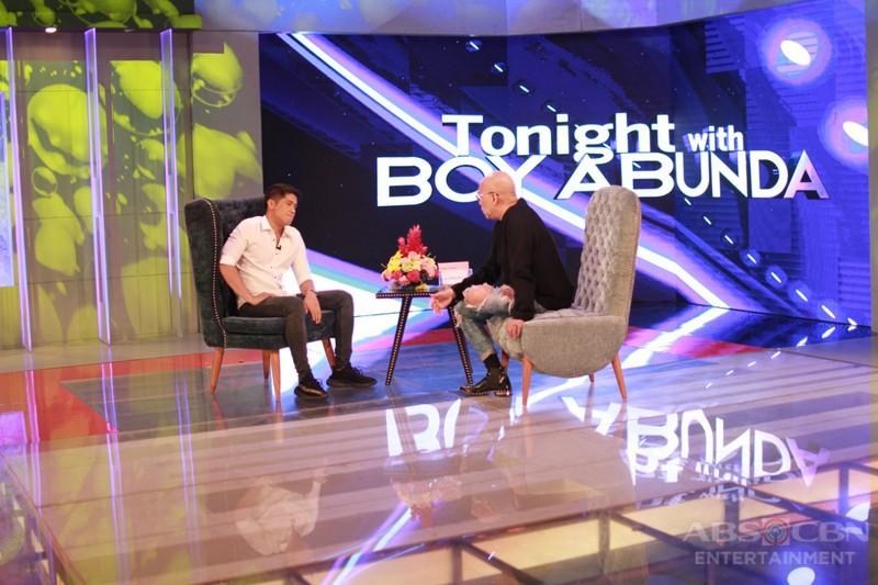 PHOTOS: Aljur Abrenica on Tonight With Boy Abunda
