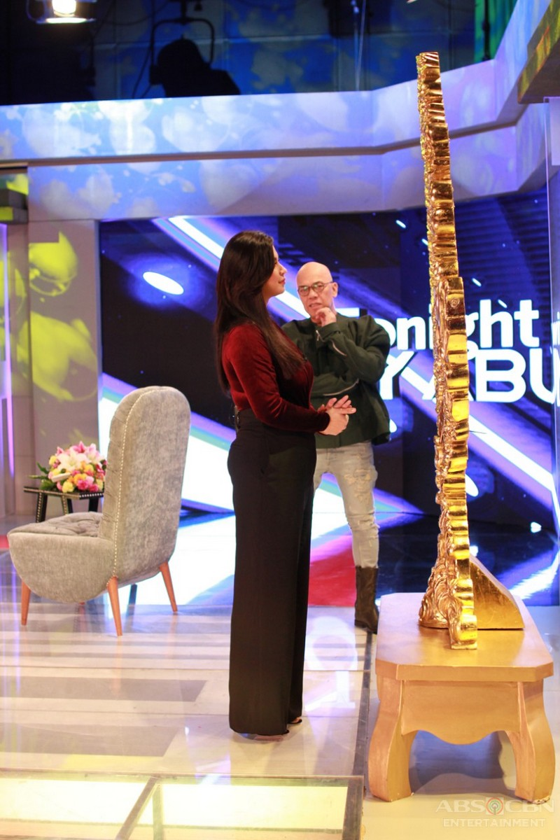 PHOTOS: Angel Locsin on Tonight With Boy Abunda