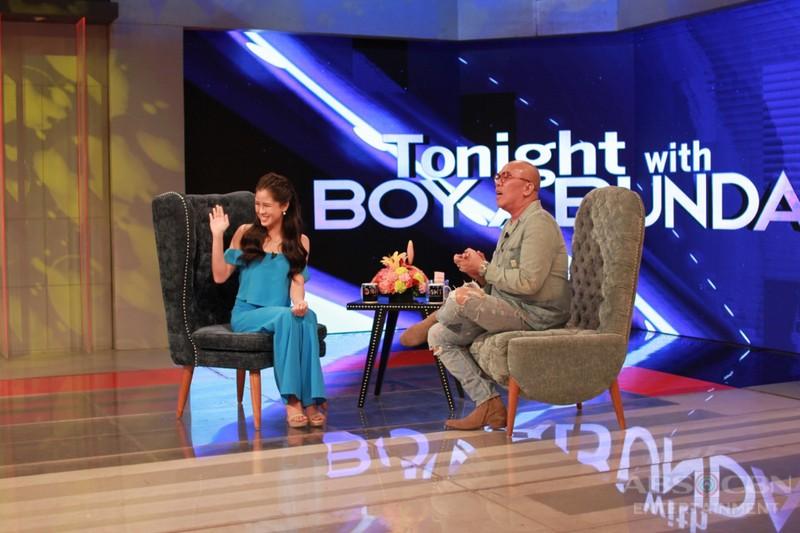 PHOTOS: Kisses Delavin on Tonight With Boy Abunda