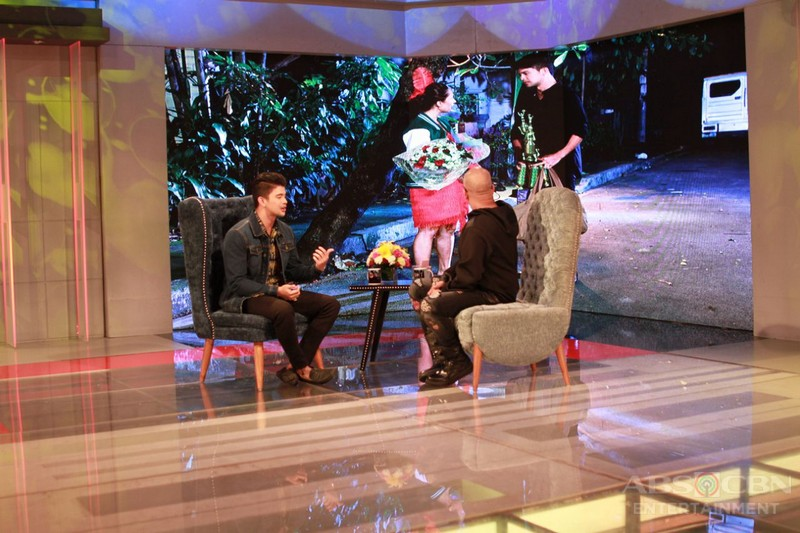 PHOTOS: Rayver Cruz on Tonight With Boy Abunda