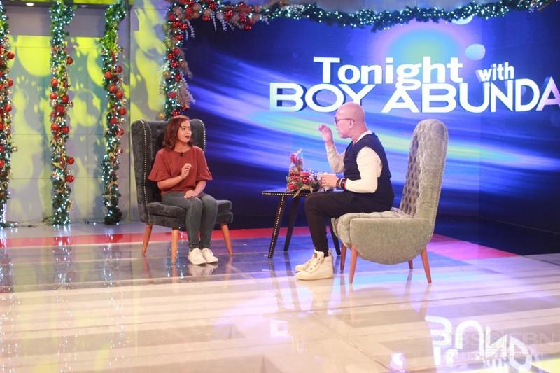 PHOTOS: Donna Cariaga on Tonight With Boy Abunda