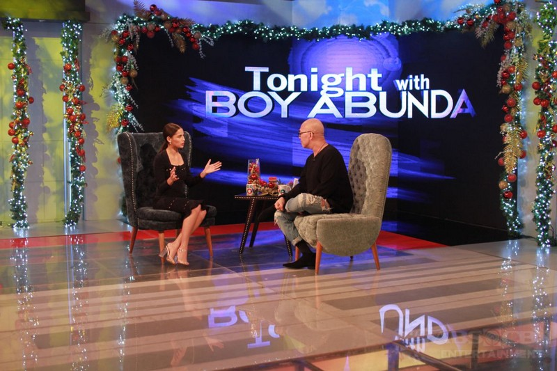 PHOTOS: Jasmine Curtis on Tonight With Boy Abunda