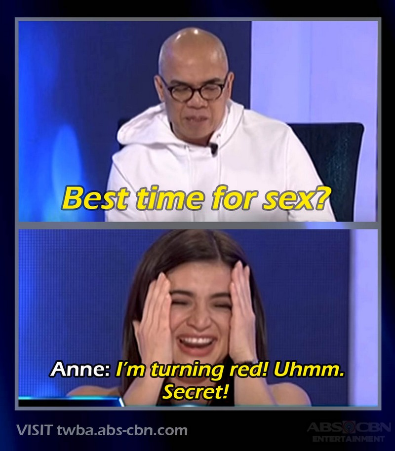 'Best time for…?' Celebrities answer one of the naughtiest Fast Talk questions on TWBA!
