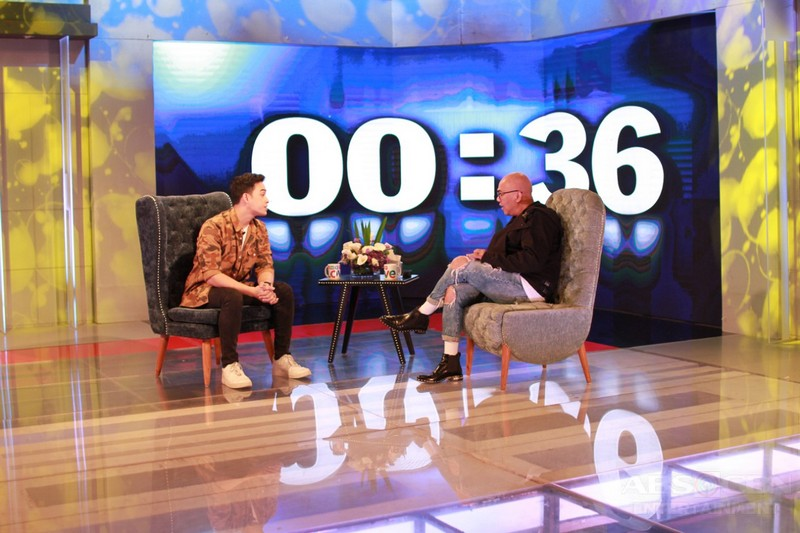 PHOTOS: Diego Loyzaga on Tonight With Boy Abunda
