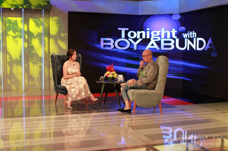 PHOTOS: Julia Montes on Tonight With Boy Abunda
