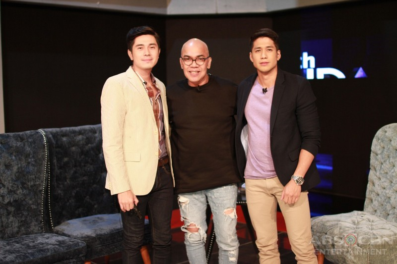 PHOTOS: Aljur Abrenica and Paulo Avelino on Tonight With Boy Abunda