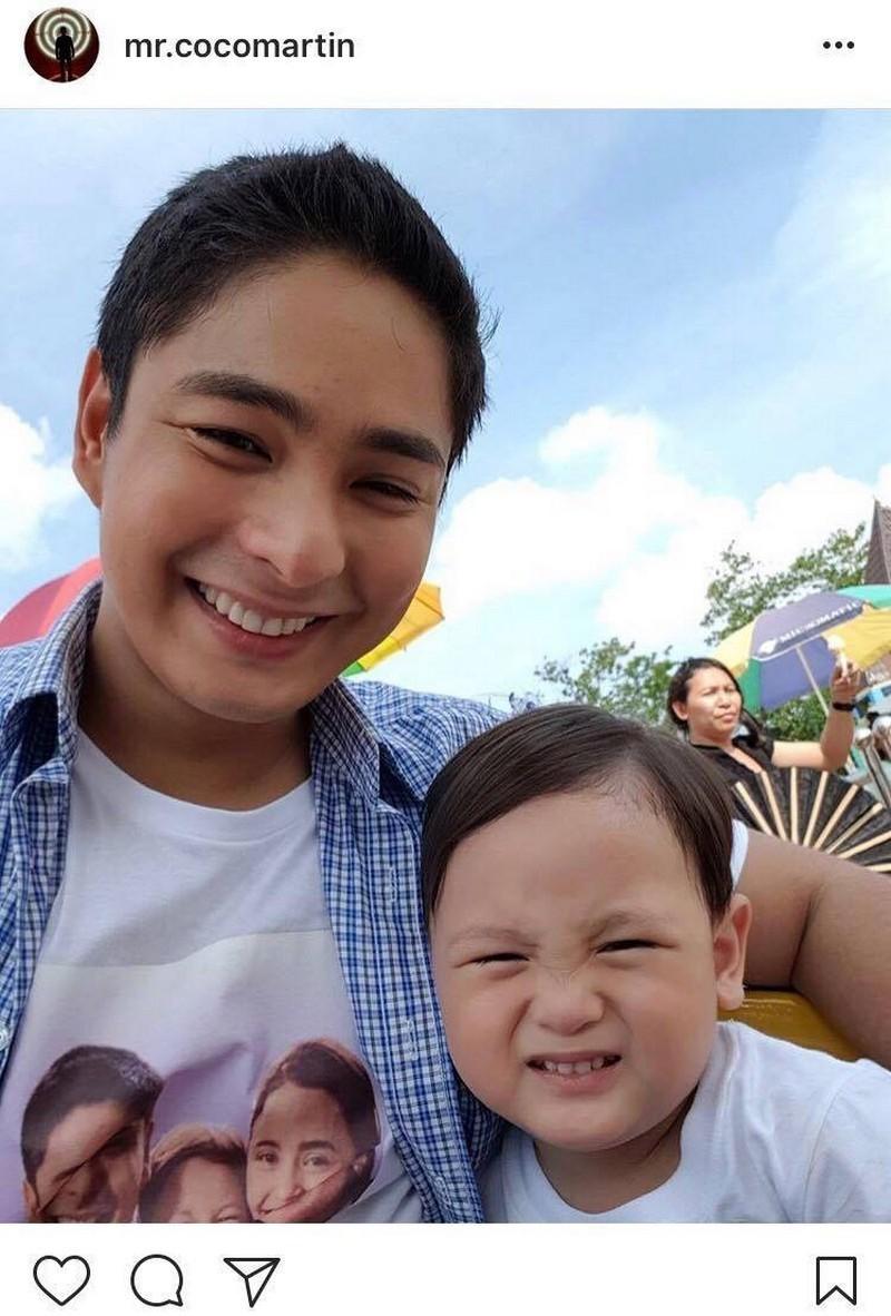 PHOTOS: Tito Boy, napansing parehong malapit sa mga bata sina Julia at Coco