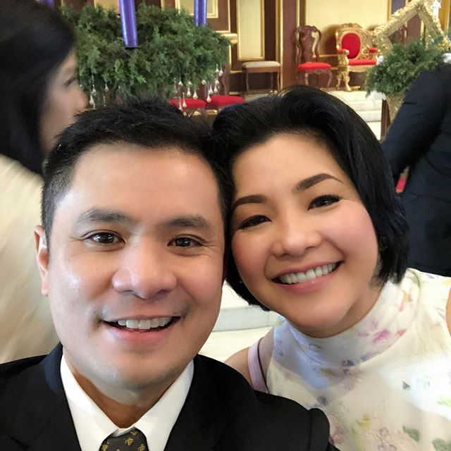 IN PHOTOS: Ogie Alcasid with his songbird for life!
