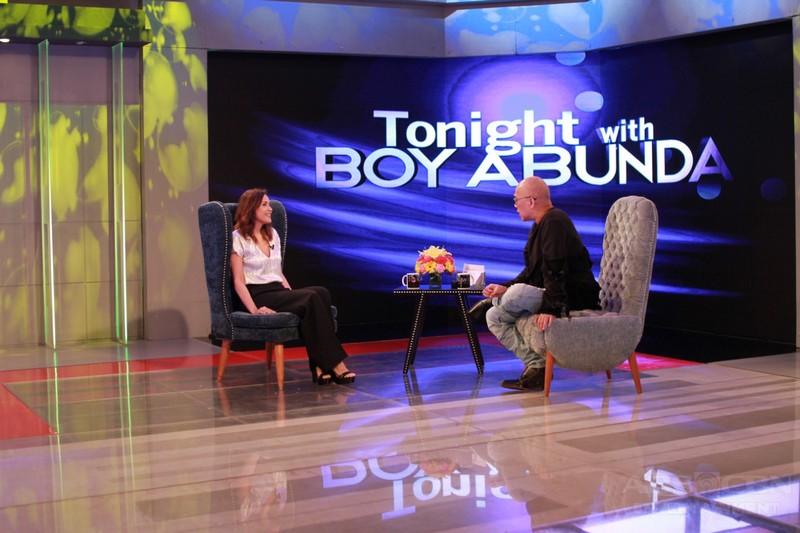 PHOTOS: Agot Isidro on Tonight With Boy Abunda
