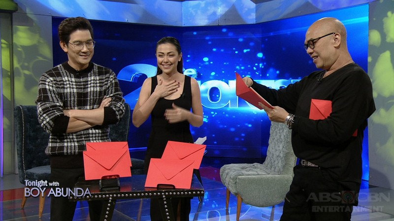 PHOTOS: JoChard on Tonight With Boy Abunda