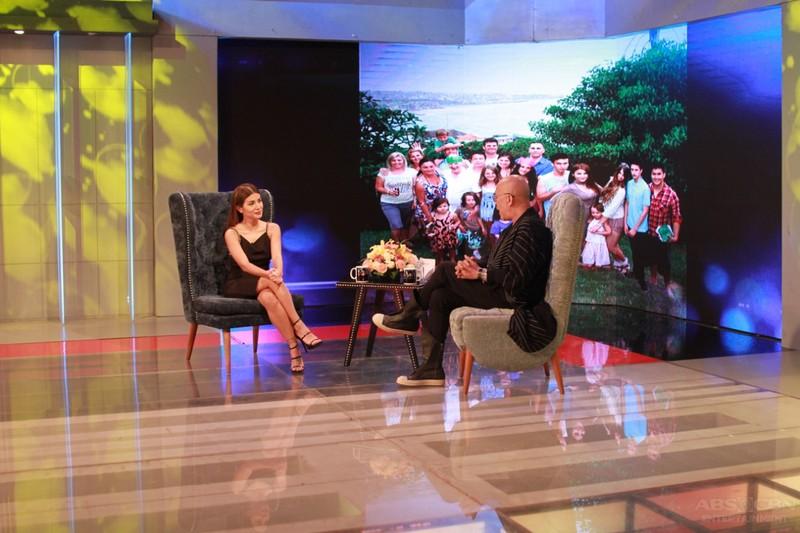 PHOTOS: Nathalie Hart on Tonight With Boy Abunda