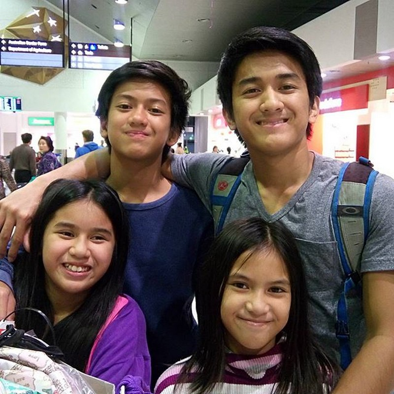 Meet the siblings of Makisig Morales in these 19 photos!